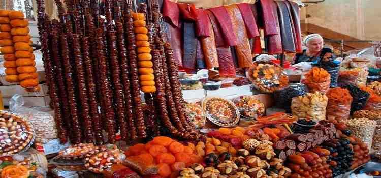 غذا های شیرین ارمنستان