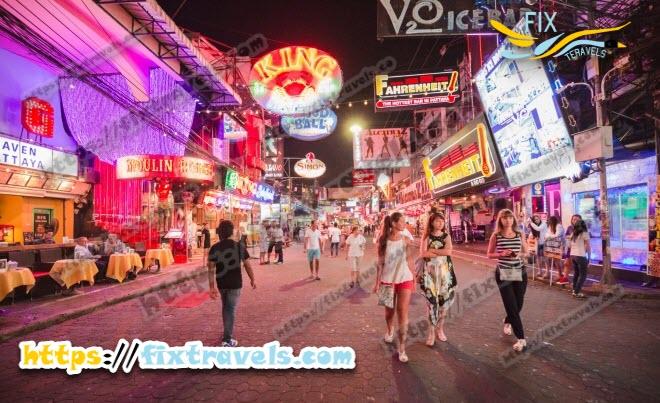 تایلند خیابان واکینگ استریت