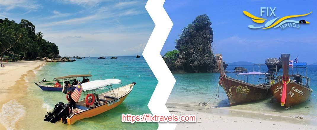 مالزی بهتر است یا تایلند؟